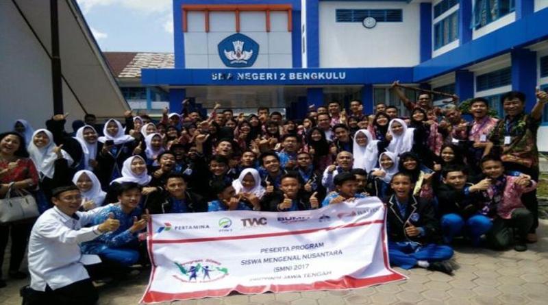 Kunjungan Siswa Nusantara