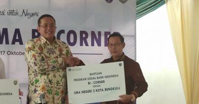 Bank Indonesia Mengajar dan Serah terima BI-CORNER